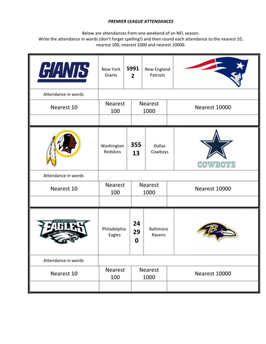 NFL Attendance
