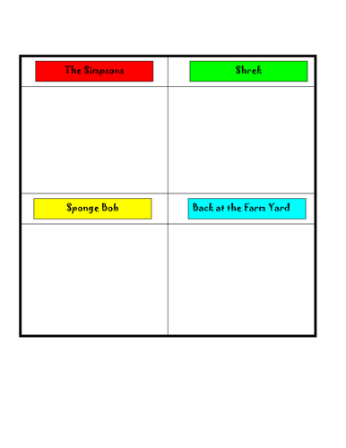 Worksheets Think Pair Share Worksheet sorting venn and carroll diagrams by sairer teaching resources tes