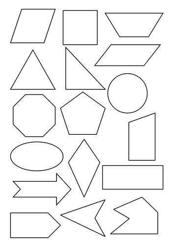 Sorting 2D Shapes by carolebeachill