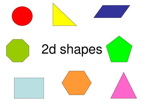 What 2d Shape Am I? By Bethanjones1991