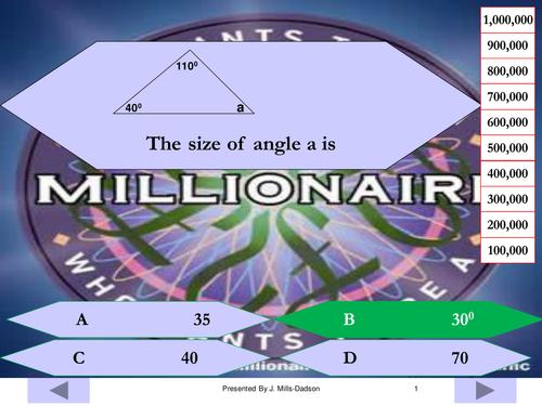 Angles involving Triangles