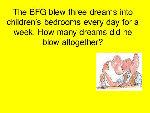 BFG Word Problems