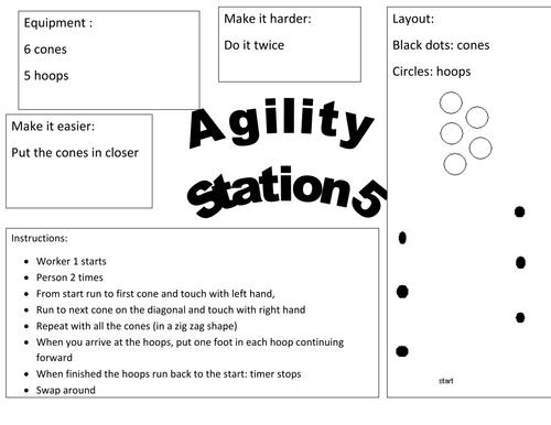 Agility multi skills activities