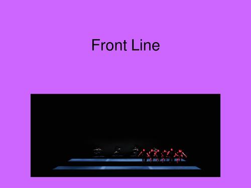 Front Line Presentation