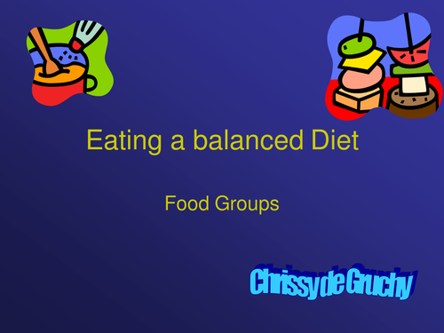 Heathy eating and food groups