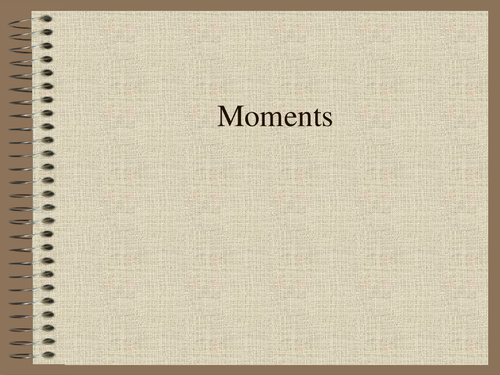 moments PowerPoint