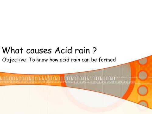 Acid Rain Powerpoint Worksheet By Lil Beetle Teaching