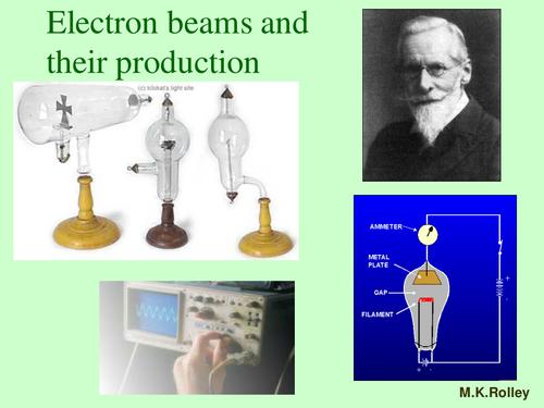 Electron Beam Tubes.