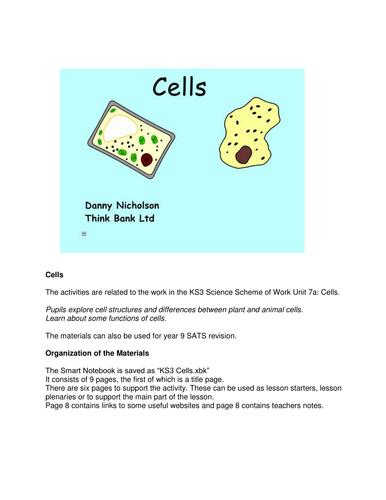 Cells Smartboard File