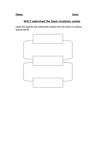 Blood circulatory system by robbojamie teaching resources tes ccuart Choice Image