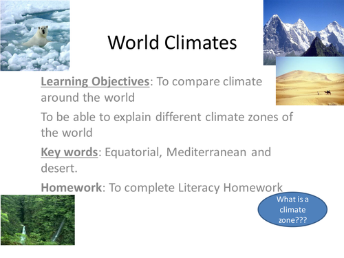climate zone map by elianagreen Teaching Resources Tes – Climate Zones Worksheet
