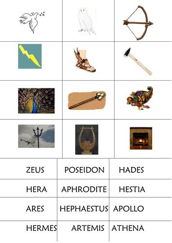 Greek Gods Lesson (Part 2)
