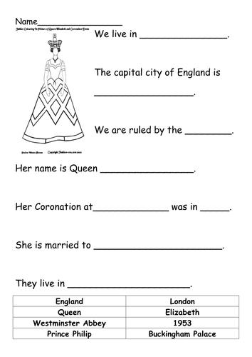 queen elizabeth 2 worksheet by tscottgreenard teaching resources tes. Black Bedroom Furniture Sets. Home Design Ideas