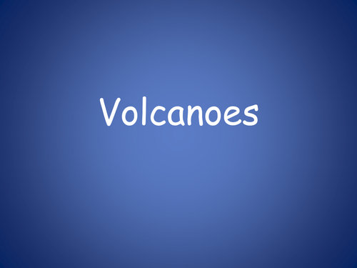 Types of Volcanoes/Why People Live Near Volcanoes