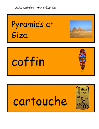 Worksheet Ancient Egyptian Homework Ks2 display vocabulary ancient egypt by welly elly teaching resources tes