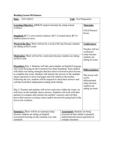 Grade 7 ELA Test Prep by grade7ela | Teaching Resources