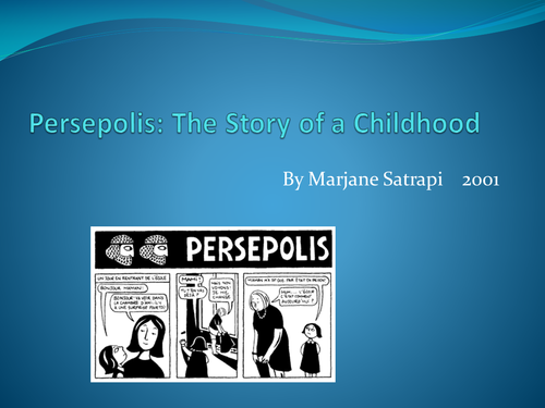 persepolis analysis Uncle anoosh is the brother of marjane's father he makes his first appearance in the story moscow marjane sees him as the hero of the family because he has been.