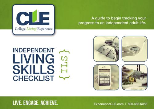 Independent Living Skills Checklist