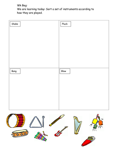 Sound and Hearing worksheet by hanmphillips - Teaching ...