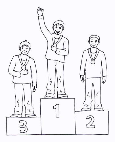 Olympics - Coloring Page