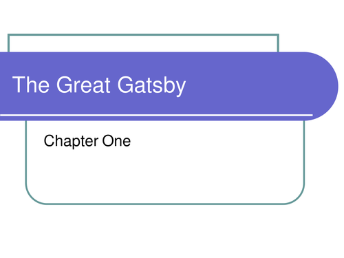 Gatsby Lessons