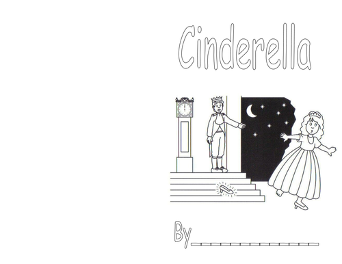 Cinderella Sequenced Picture Book by Lady_Tierney
