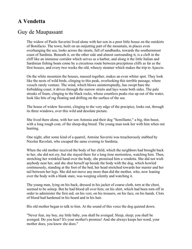 Looking back guy de maupassant pdf