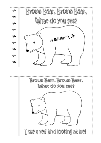 Polar Bear Polar Bear What Do You Hear Worksheets - beansmith.co