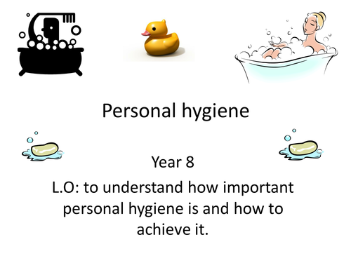 Personal hygiene by pennymcb Teaching Resources Tes – Personal Hygiene Worksheets for Adults