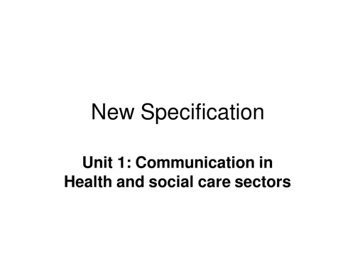 Communication in health and social care by Racer1