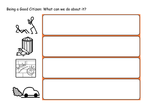 Worksheet Good Citizenship Worksheets being a good citizen by lbrowne teaching resources tes