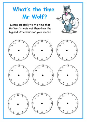 Time worksheets time worksheets reception free printable time worksheets time worksheets reception whats the time mr wolf worksheet by kmed2020 ibookread Download