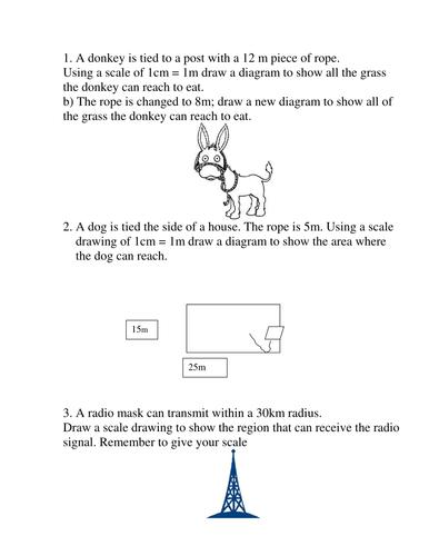 Loci Worksheet By Tackleberi Teaching Resources Tes