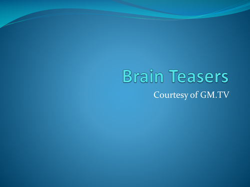 brain teasers with answers pdf download