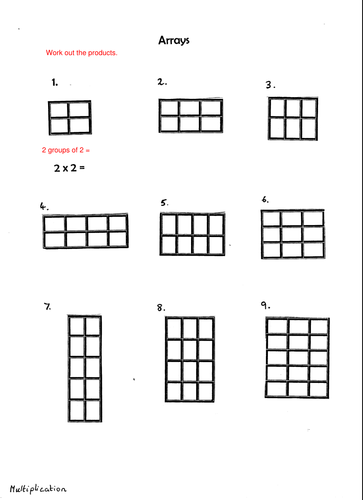 math center arrays by rachieod uk teaching resources tes. Black Bedroom Furniture Sets. Home Design Ideas