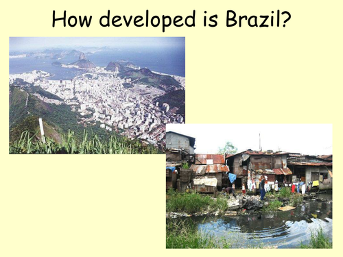 brazil developed of developing The department of economic and social affairs of the united nations secretariat developed economies  brazil chile colombia ecuador paraguay.