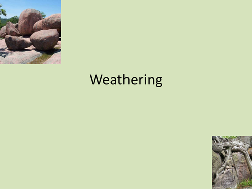 Rocks; Resources and Scenery