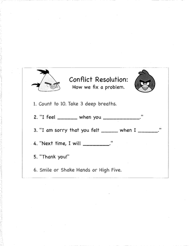 Conflict Resolution Worksheet Template furthermore Conflict Resolution Poster by David   Teachers Pay Teachers furthermore Conflict Resolution Visual for Students by jdeming   Teaching furthermore Conflict Resolution   Peaceful s NC furthermore  as well 30 ly Relationship Conflict Resolution Worksheets together with Conflict Resolution Lesson Plans High as well Conflict Resolution Coloring Pages Fabulous Worksheet Conflict moreover Conflict Resolution Worksheets For Kids Conflict Resolution Skills further Conflict Resolution Worksheets together with  together with Identifying Conflict Worksheet The Best Worksheets Image Collection additionally Fillable Online Relationship Conflict Resolution  Worksheet moreover  also Conflict Resolution Worksheets   Homedressage furthermore Perfect Conflict Resolution Coloring Pages Free Bullying Printable. on conflict resolution worksheets for adults