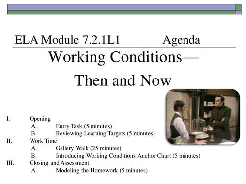 7th grade ela module 211 lyddie by imkessel teaching resources tes publicscrutiny Images
