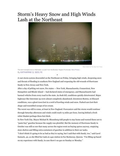 Reading Newspaper Articles-Journalism