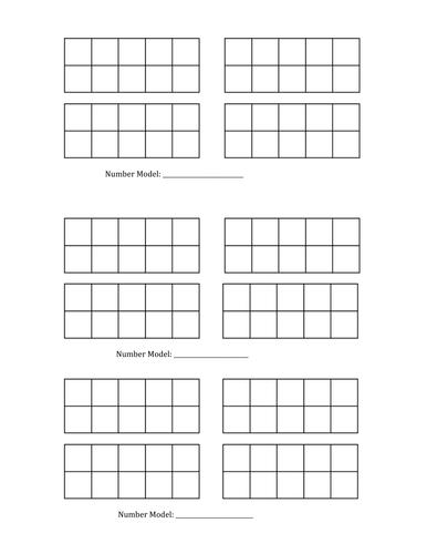 Double Ten Frames by SaintSarah - Teaching Resources - Tes