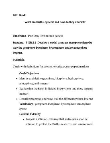 What are Earth's systems and how do they interact?