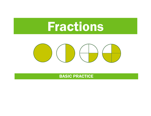 Basic Practice with Fractions
