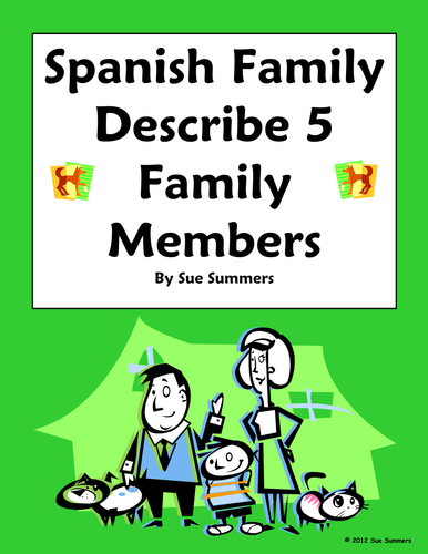 essays family spanish Spanish essays about family - only hq academic services provided by top specialists entrust your paper to us and we will do our best for.