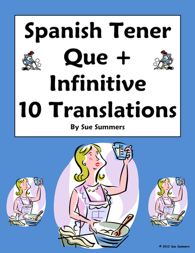 Spanish Tener Expressions 20 Sentence Translations By