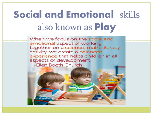 Early Childhood Education A Unit 2 day 2 lesson plan Social and Emotional