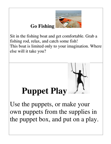 Early Childhood Education A Unit 2 day 2 social and emotional center activity cards