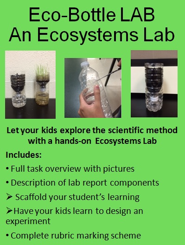 Human Impact on Ecosystems Inquiry Lab Experiment: Ecobottles Lab
