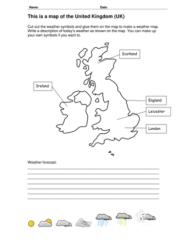 Write A Weather Report By Swite Uk Teaching Resources Tes