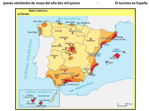 El turismo en Málaga - listening comprehension - National 5 Spanish